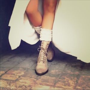 🔥Free People Sounder Lace Up Combat Boots🔥